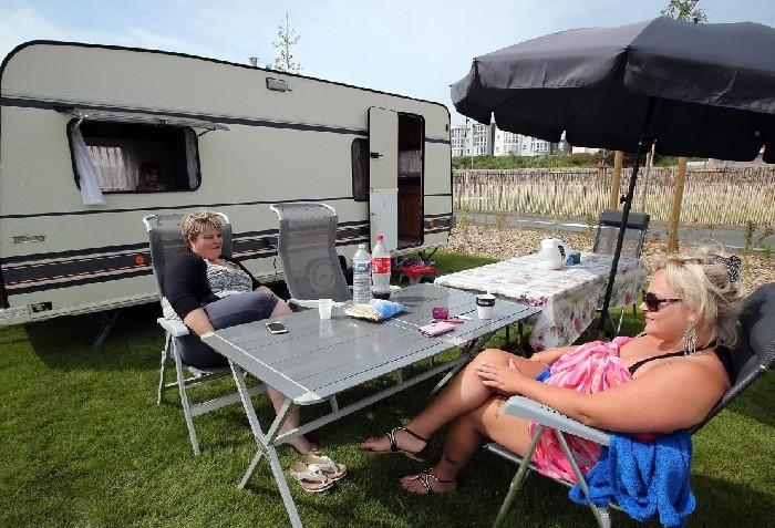 Calais : le nouveau camping a accueilli ses tout premiers estivants