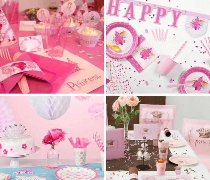 Quelles couleurs choisir pour l'anniversaire d'une petite fille ?