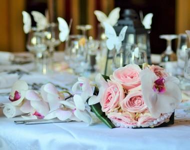 Les décors de table pour votre mariage