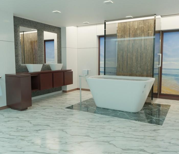 5 raisons de choisir le marbre pour sa salle de bains